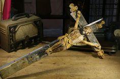 Crucifijo - Talla Madera Figura religiosa - Religious figure Sacred Art - 262168961347 http://r.ebay.com/7aMA03 vía @ebay  @petitsencants #ebay #loopneo #loopneostudio #Oddities #Antiques #retro #Vintage #ecommerce #loopneo #loopneostudio #Sacred #art #Religious #religioso #jesus #wood #crucifijo #cruz #old