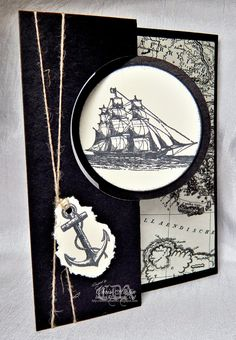 The Open Sea, Manly Card, * Luv 2 Cre8 With U! *
