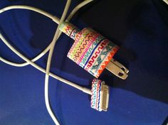 DIY aztec sharpie iPhone charger