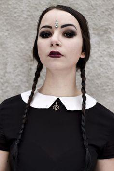 Nu Goth Wednesday Addams - Soki Spawn Altergirl