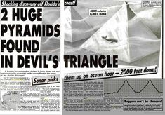 Pyramids Of Glass Submerged In The Bermuda Triangle - Apparently ...