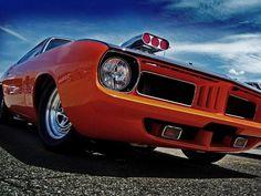 "belcolor: "" '71 Pro-street Cuda - 540 C.I. Keith Black Hemi engine, 1100 hp """