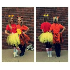 Winnie the Pooh and Tigger Halloween Costumes!