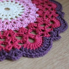 Beautiful doily