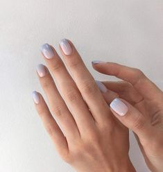 Nail Designs For Short Nails 2020 Idea gradient manicure 2020 2021 photos of new items and trends Nail Designs For Short Nails Here is Nail Designs For Short Nails 2020 Idea for you. Nail Designs For Short Nails 2020 gradient manicure 2020 Short Nail Manicure, Manicure E Pedicure, Short Nails, Diy Nails, Cute Nails, Minimalist Nails, Stylish Nails, Trendy Nails, Nails Ideias