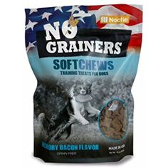 Grain Free Dog Treats and Dog Chews by Nootie No-Grainers         *** Continue to the product at the image link. (This is an affiliate link) #PetSupplies