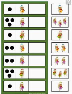knihydetstva: 4.deň - Detský adventný kalendár Kindergarten Math Activities, Preschool Math, Activities For Kids, Toddler Worksheets, Counting Games, Busy Boxes, Kids Class, Educational Games, Speech And Language
