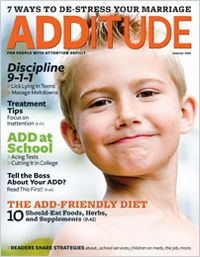 """ADDitude Magazine can help people with ADHD/ADD figure out their best treatment, such as with this article entitled """"The ADD-Friendly Diet.""""  Follow the link to read this important information if you or your family have Attention Deficit Hyperactivity Disorder. #additudemag and #adhdplate"""