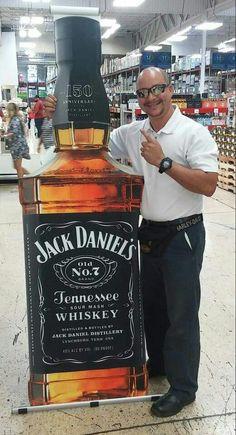 Jack Daniels store display