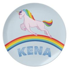Kena Plate for children - diy cyo customize create your own personalize