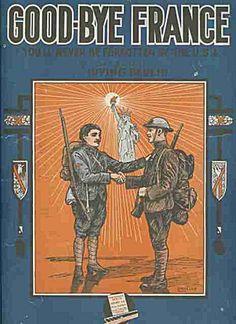 Good-Bye France - Sergeant Irving Berlin WWI 1918