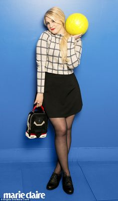 All about the pins: Meghan Trainorrevealed to May's Marie Claire magazine the way to win ...