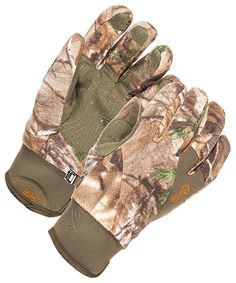 SHE Outdoor Performance Fleece Gloves for Ladies | Bass Pro Shops: The Best Hunting, Fishing, Camping & Outdoor Gear