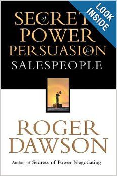 Secrets of Power Persuasion for Salespeople, now available in paperback as well as hardcover, is a powerful, easy-to-read book that delivers scores of proven, effective methods and techniques you can use immediately to achieve the power and influence over buyers you desire.