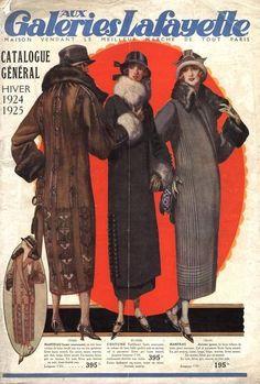 1924/1925 Galeries Lafayette catalogue, Paris