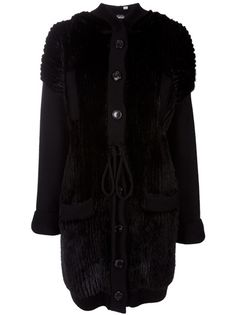 DIOR Hooded Mink Fur Coat #shopstylefavorites