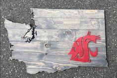 Washington State University Sign, WSU, Wazzu, Washington State, Cougars, Washington State Cougars