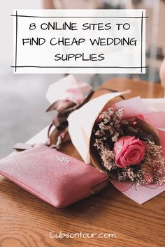 8 Online Sites To Find Cheap Wedding Supplies, an easy wedding day with cheap wedding bits, affordable wedding gifts and affordable wedding supplies. Cheap Wedding Supplies, Wedding Decorations On A Budget, Unique Wedding Favors, Wedding Gifts, Low Cost Wedding, Plan Your Wedding, Budget Wedding, Wedding Planning, Magical Wedding