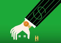 Lending Remains Keys | Builder Magazine | Editorial Illustrations: Part III by Tang Yau Hoong, via Behance