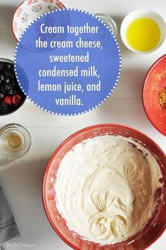 How to Make No Bake Cheesecake Filling