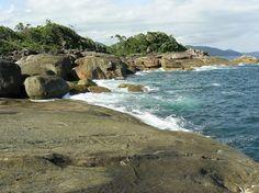 Ubatuba-SP - Costeira da praia da Caçandoca