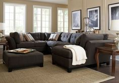 Cindy Crawford Metropolis Slate 4Pc Sectional Living Room. $2,399.98.  Find affordable Living Room Sets for your home that will complement the rest of your furniture.