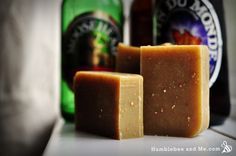 Citrus beer soap