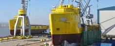 Damen Shipyards Galati, Romania http://www.damen.ro/