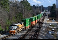 RailPictures.Net Photo: UP 1989 Union Pacific EMD SD70ACe at Austell, Georgia by Andy Sarge