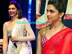 Deepika Padukone Saree Blouse