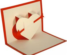 FREE KIRIGAMI TEMPLATE - HEART - Pop-up Card https://loisirscreatifs.kirigami.fr/Kirigami_modeles/Modeles-telechargeables/Produit/Petit-Cur
