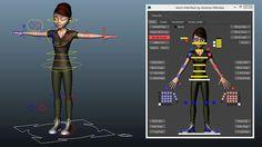 Mery Rig - Free Maya Character Rig, Female Character rigComputer Graphics & Digital Art Community for Artist: Job, Tutorial, Art, Concept Art, Portfolio