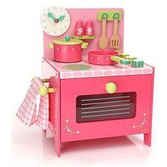 Role play: wooden play kitchen. Sarà un sogno per tutte le bambine cucinare con questa elegantissima cucina giocattolo in legno, distingue per la raffinatezza del disegno e delle decorazioni, splendide fin nei più piccoli dettagli, e per la pratica compattezza. La trovate sul nostro negozio online alla pagina http://www.giochiecologici.it/c/31/cucina-giocattolo-in-legno