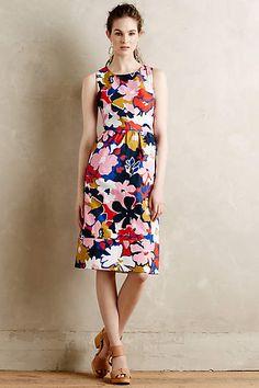 Petalprint Cross-Back Dress by WHIT Two #FloralPrint #RetroStyle