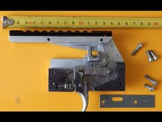 Спусковое устройство (замок) арбалета своими руками / homemade crossbow trigger - YouTube