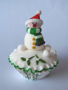 @Kathleen S S DeCosmo ♡❤ #CupCakes ❤♡ ♥ ❥ #Christmas so cute