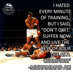 Waking up to the news that The Greatest has moved on to paradise. He will continue to motivate us to always strive for greatness. #MuhammadAli #TheGreatest #jerseyclippers #Champion