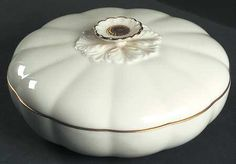 Vintage Lenox China Covered Dish in Primrose Pattern~Great Bridal Gift by disNdatVINTAGE on Etsy, $30.00