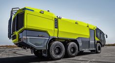 The new Rosenbauer PANTHER 6x6 Truck, Bug Out Vehicle, Expedition Vehicle, Truck Design, Camping Car, Emergency Vehicles, Fire Engine, Armored Vehicles, Big Trucks