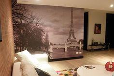Paris Wall - Foto mural París