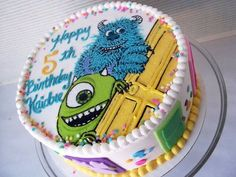 monsters inc cake - Google Search