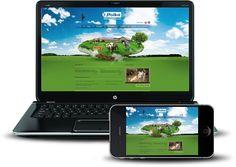 projekt i wykonanie strony internetowej dla hodowli cieląt