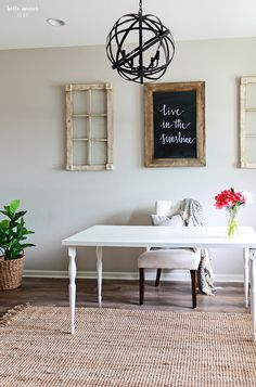 Summer Home Tour: Part 1 + Five Tips to Refresh Your Home for Summer - Belle Amour Blog