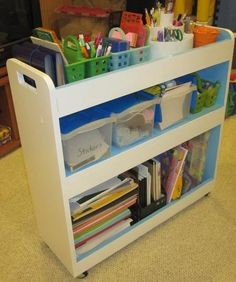 Make your own plans from a GREAT blog.  I like that we could stow this in the hall closet and bring it to the table in the space.  Much more affordable option.