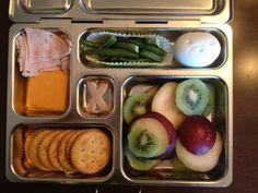 Fruit, Cheese, Turkey, Crackers, Eggs, Green Beans