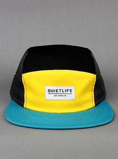 THE QUIET LIFE Quad 5 Panel Cap Converse 70s, Five Panel Cap, E Skate, Bucket Cap, Cool Hats, Mens Caps, Hats For Men, Cool T Shirts, Cool Designs
