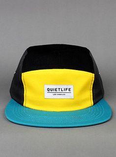 THE QUIET LIFE Quad 5 Panel Cap Converse 70s, Five Panel Cap, Cool Hats, Mens Caps, Hats For Men, Cool T Shirts, Cool Designs, Fashion Accessories, Mens Fashion