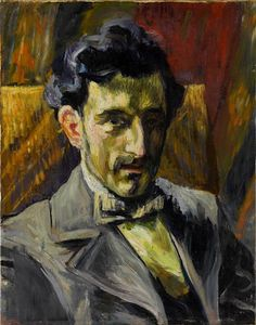 Portrait Of Maurice Ravel,1903  , by Henri Manguin