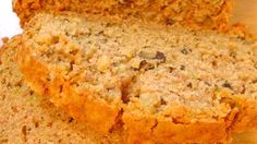 You'll get two loaves of classic zucchini bread, sweet and cinnamon-spicy.  This is a definite crowd-pleaser.