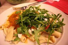 Roasted Garlic and Eggplant Pasta alla Norma